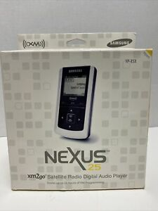 New Samsung Nexus 25 YP-X5X XM2GO Portable XM Satellite Radio Digital Audio Play