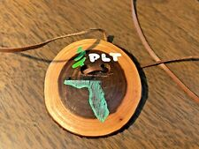 Project Learning Tree tree disk necklace eastern redbud Florida