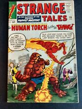 Strange Tales # 116 (Marvel '64) Human Torch vs. the Thing, 1ST X-OVER, 5.5 FN-