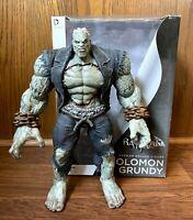Solomon Grundy Batman Arkham City Deluxe Action Figure w/ Box DC Broken Arms
