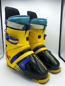 Salomon Force 9 Vintage Retro ski boots France 312 330-335 (please read) Size 8