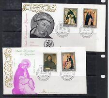 Vaticano Santo Domingo de Guzman Sobres Primer Día año 1971 (DX-605)