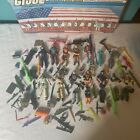Vintage+1980s+GI+Joe+Parts+And+Complete+Figures+With+Vintage+Case+Sold+As+Is