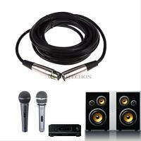 10FT 3pin FOOT XLR Male to Female Mic Cord Microphone Audio Extension Mic Cable