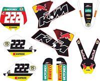 KIT DE PEGATINAS, ADHESIVOS, KTM EXC, SX 65 DECAL, GRAPHICS