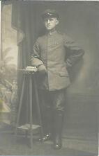 Foto-Portrait Soldaten mit EK2  Bandspange    1.WK ( M176)