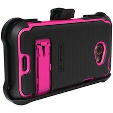BALLISTIC SX0910-M365 HTC® EVO™ 4G LTE SG MAXX Case (Black/Pink)