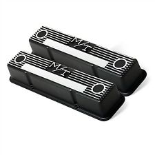 Holley 241-83 Valve Covers M/T Mickey Thompson Tall SBC Small Block Chevy 350