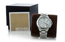 "Michael Kors MK 5719 ""Camille"" Silvertone Damen Uhr"