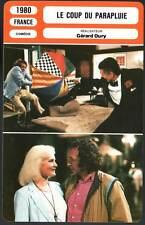 LE COUP DU PARAPLUIE - Richard,Mairesse,Oury (Fiche Cinéma) 1980