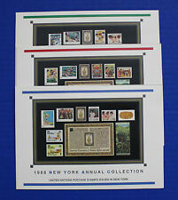 United Nations - 1988 Annual Collection with MNH stamps