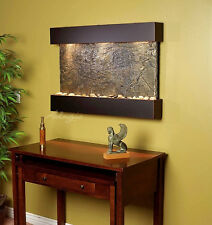 ADAGIO REFLECTION CREEK RCS1502 WALL WATERFALL BLACKENED COPPER WITH GREEN SLATE