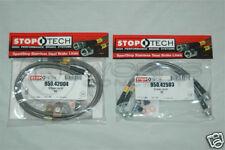 StopTech Stainless Steel Brake Lines F/R Subaru WRX 08+