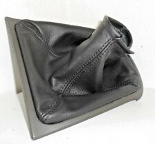 Jaguar X Type gear stick gaiter manual black genuine leather No parties plastic