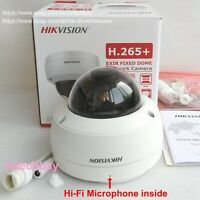 Hikvision 4K 8MP Mic PoE H.265+ IP Camera DS-2CD2183G0-IU,replace DS-2CD2183G0-I