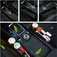 Universal Black Car Organizer Sitz Lücke Lagerung Münze Box Getränkehalter ABS