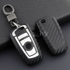 Carbon Fiber Key Fob Case Cover For BMW F20 F21 F30 F34 F36 F10 F07 F25 F26 F32