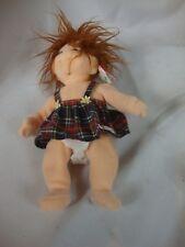 Ty Beanie Kids Ginger Girl Doll Plush Polyester Fiber and P.E. Pellets Children