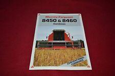 Massey Ferguson 8450 8460 Combine Dealer's Brochure Yabe