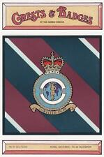 ROYAL AIR FORCE ( RAF ) 42 TORPEDO BOMBER SQUADRON POSTCARD ( CRESTS & BADGES )