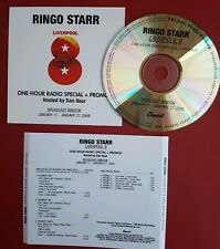 Ringo Starr Liverpool 8 One hour radio special & promo with Dan Neer CD 2008