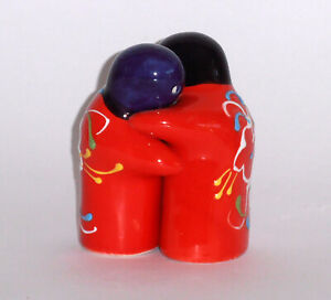 Spanish Ceramic Salt and Pepper Huggers