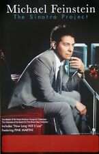 Michael Feinstein The Sinatra Project Promo Poster New Fools Rush In Rare Frank
