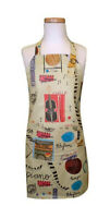 Child Noteables Chef / Cooking / Craft Apron, Kids, Music Print, Wipe Clean