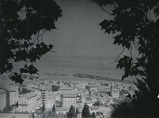 CORSE c. 1950 - Panorama de Bastia Le Port l'Église  - Div 112
