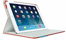 Logitech Fabric Skin Ultrathin Keyboard Folio Case for iPad Air Mars Red Orange