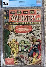 Avengers 1 CGC 2.5