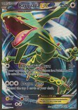 1x Rayquaza-EX - 104/108 - Full Art Ultra Rare NM-Mint Pokemon XY - Roaring Skie