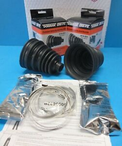 Pair Set 2 Universal Front Outer CV Joint Boot Kits Left & Right 614001