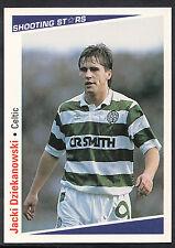 Merlin Football 1991-92 Shooting Stars Card - No 357 - Celtic - Dziekanowski