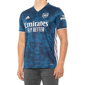 adidas Arsenal FC 2020 - 2021 Third Soccer Jersey Navy Pink Men's size M - NEW