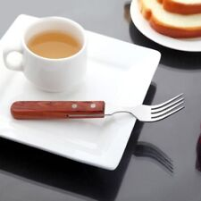 2pcs Wood Handle Knife Fork Stainless Steel Cutlery Dining Gift Choose