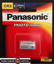 Genuine Panasonic CR2 Lithium 3V Battery for photo camera CR-2W/1BE