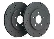 Hawk Talon Drilled and Slotted Rear Brake Rotors for 12-16 Ford Focus