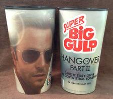 "HANGOVER 2 MOVIE - 7/11 SUPER BIG GULP Promo Cup - Bradley Cooper ""PHIL"""