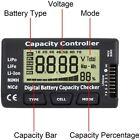 Batteriekapazität Spannungsprüfer Controller Tester Lipo Life Li-Ion Nimh Akkus