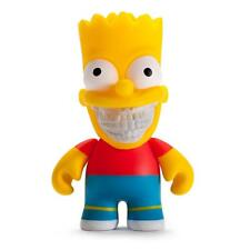 "THE SIMPSONS GRIN 3"" BART DESIGNER VINYL MINI FIGURE BY KIDROBOT RON ENGLISH"