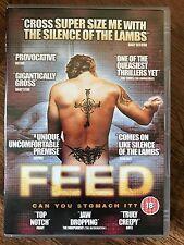 Patrick Tompson Rose Ashton FEED ~ 2005 Feeder Fetish Film   UK DVD