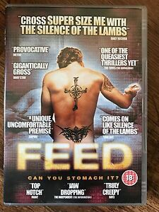Feed DVD 2005 Feeder Fetish Film Movie with Patrick Thompson and Rose Ashton