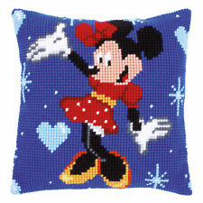 Disney's Minnie Mouse Cross Stitch Cushion Kit
