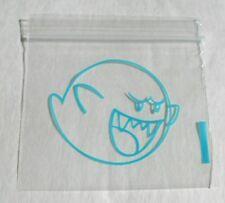 100pcs Ziplock Plastic Bags 2x2 Boo Baggies (Clear Poly, Blue Print) 2020