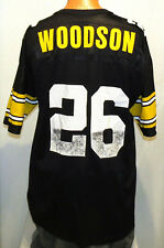 vtg ROD WOODSON STEELERS Jersey XL 48 Champion nfl 90s pittsburgh football blk