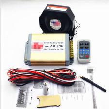 200W Alarm Siren 11Tones Loudspeaker Horn Electronic Wireles Police Buzzer AS830
