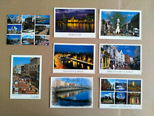 Dublin Postcards Ireland, 8 Rare Old Irish Postcards (John Hinde etc)
