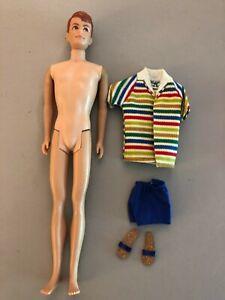 1964 Allan Doll Ken's Buddy MIDGE's Boyfriend VINTAGE BARBIE Mattel