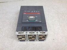 Abb S6H 600 Amp 600 Vac 3 Pole Circuit Breaker Sace S6 Sace Pr212/P